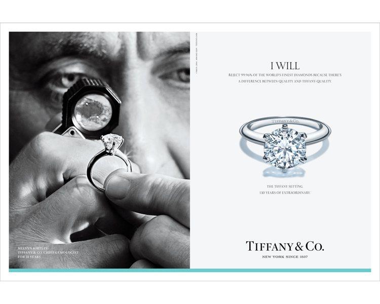 Tiffany 2016形象廣告,首席寶石學家Melvyn Kirtley專注審...