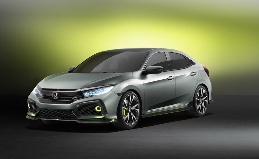 Civic Hatch概念車 Honda提供