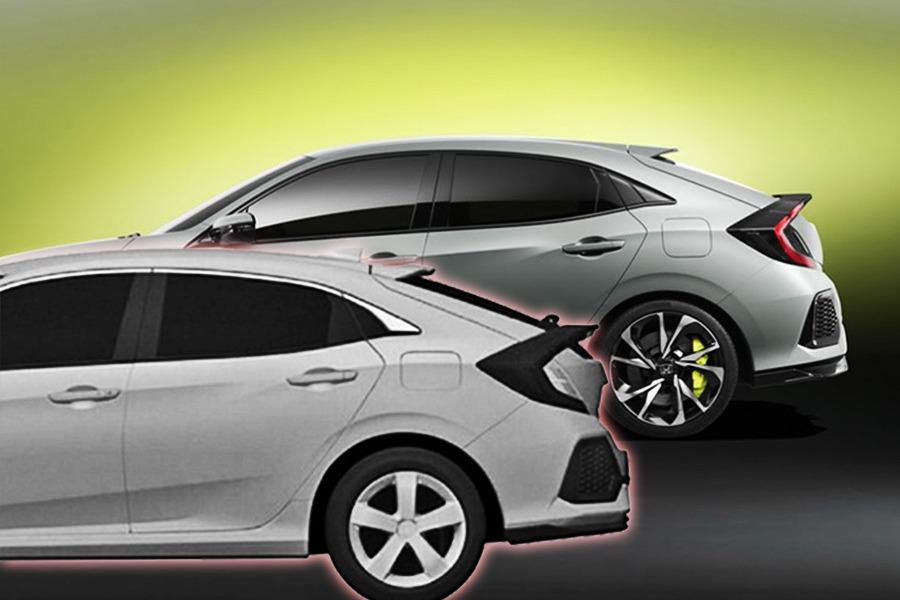 Honda Civic掀背專利圖曝光 新Type R基礎平台