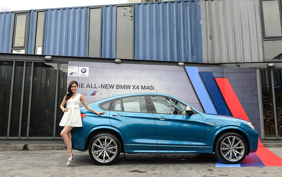 全新BMW X4 M40i BMW提供