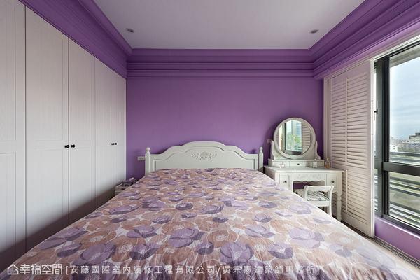 ▲家具: 幾經縝密的尺寸思量後,在有限的空間坪數內安排女主人喜愛的古典風格家具。