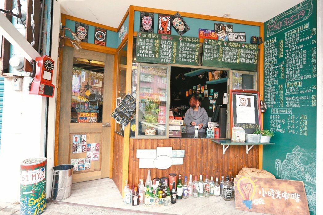 小時光咖啡館,走美式復古風。 記者邱德祥/攝影