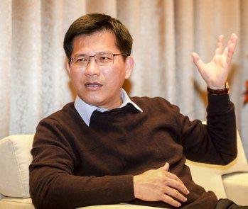 台中市長林佳龍。 聯合報系資料照