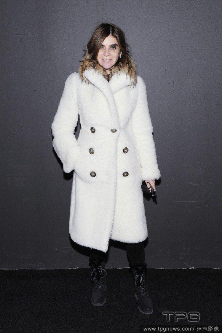 時尚女強人 Carine Roitfeld。圖/達志影像