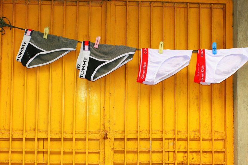 示意圖,非作者室友的內褲。 photo credit:<a href=
