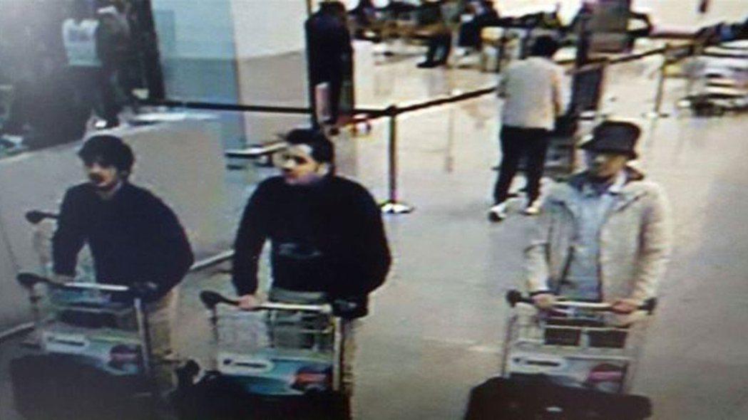 3月22日:警方釋出的嫌疑人影像。 圖/美聯社