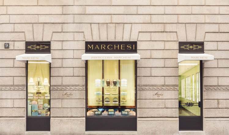 Prada在兩年前買下百年甜點店Marchesi。圖/Prada提供