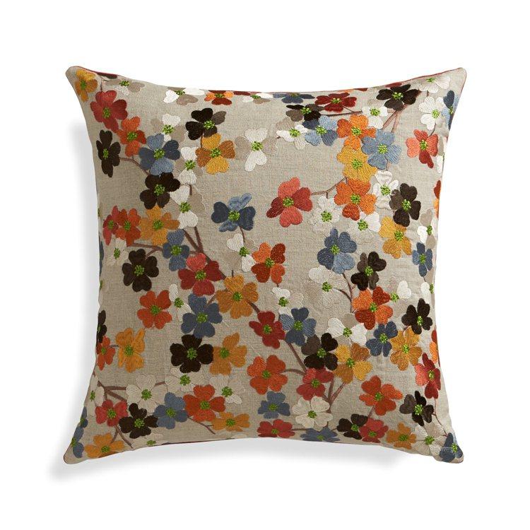 手工編織的花卉圖騰加上明亮色彩,Tressa抱枕,為居家營造花園氣氛,3,050...