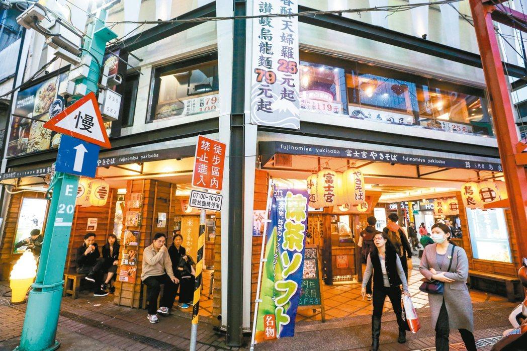 漢中街101號街景 記者程宜華/攝影