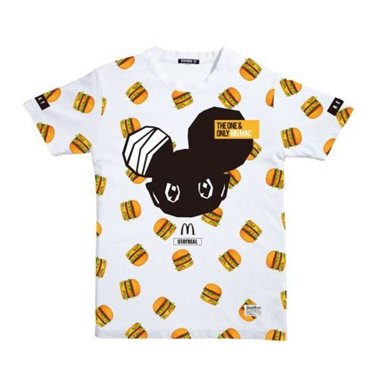麥當勞潮T「潮流大麥克」。圖/麥當勞提供