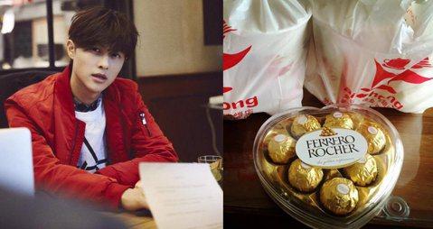 JPM的王子(邱勝翊)果然魅力驚人,23日他在臉書分享自己去早餐店買早餐,結果老闆娘竟然還送了他一盒巧克力,是要提前慶祝他生日,讓王子很感動,大讚早餐店食物好吃人又好。