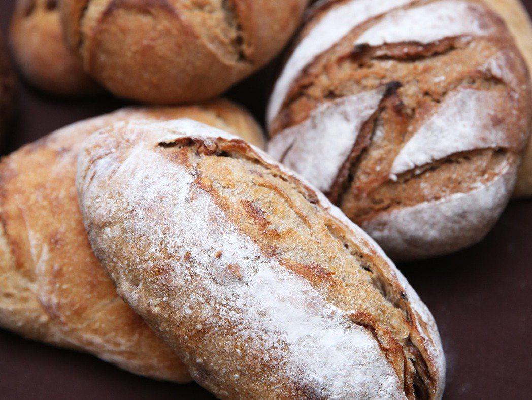 小麥全麥麵包。記者徐兆玄/攝影