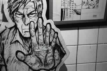 【拳師打專欄】舉辦畫展的男人