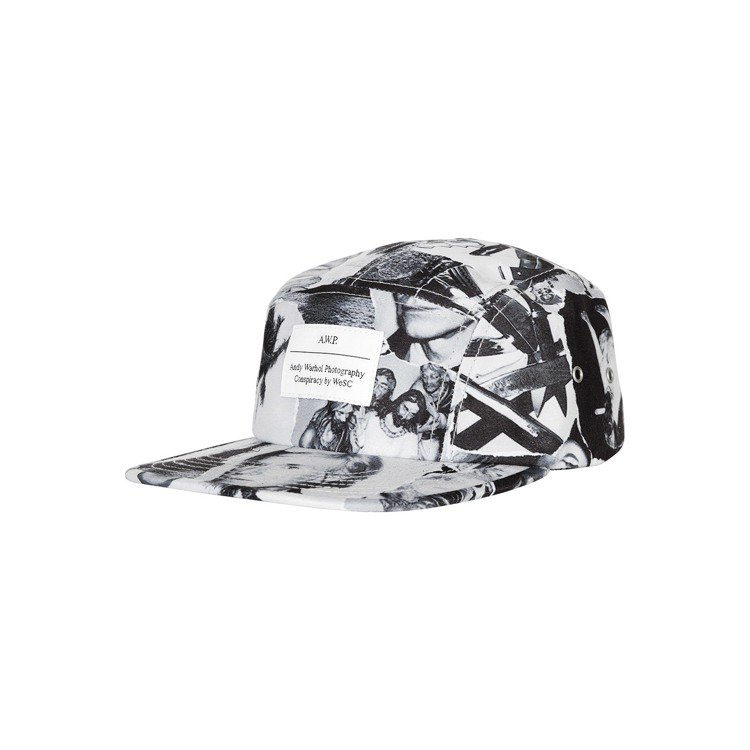 WeSC X Andy Warhol帽子1,280元。圖/WeSC提供