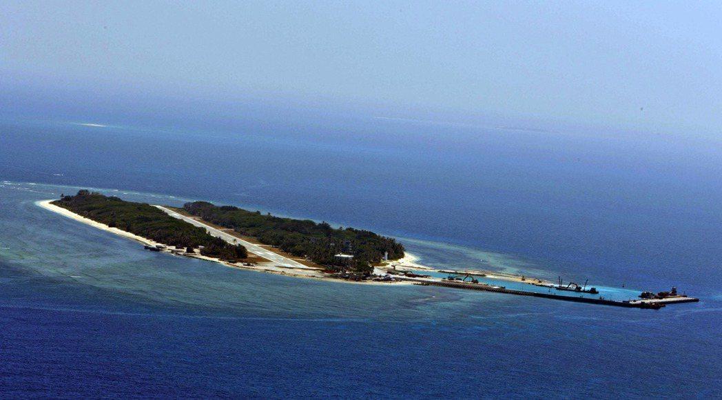 太平島。 聯合報記者洪哲政/攝影