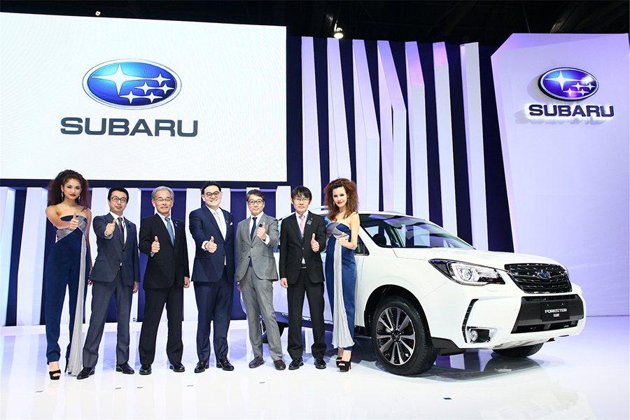 SUBARU在東南亞地區的獨家代理商-意美汽車集團於第37屆曼谷國際車展,正式發...