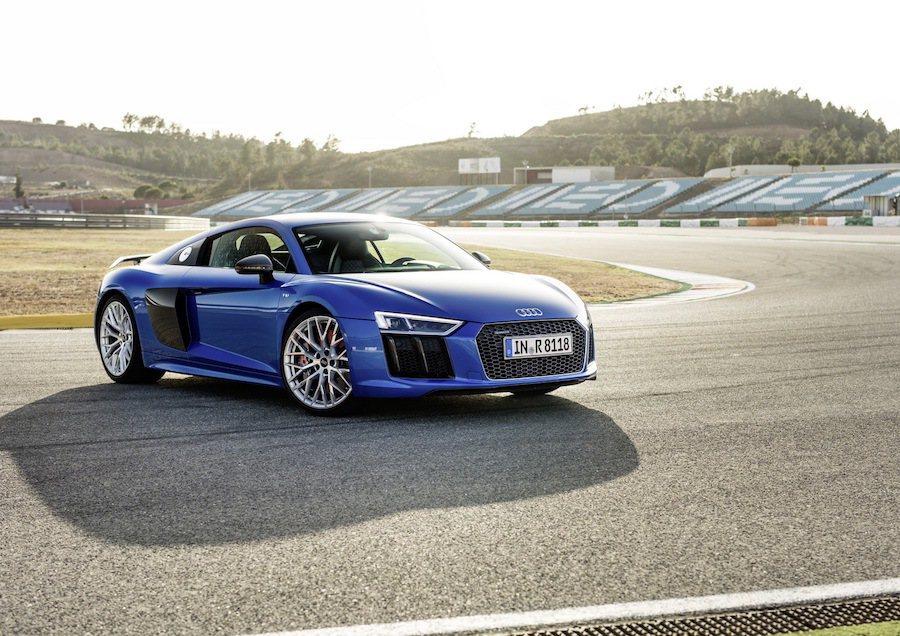 Audi R8獲得世界年度最佳性能車獎項。 Audi提供