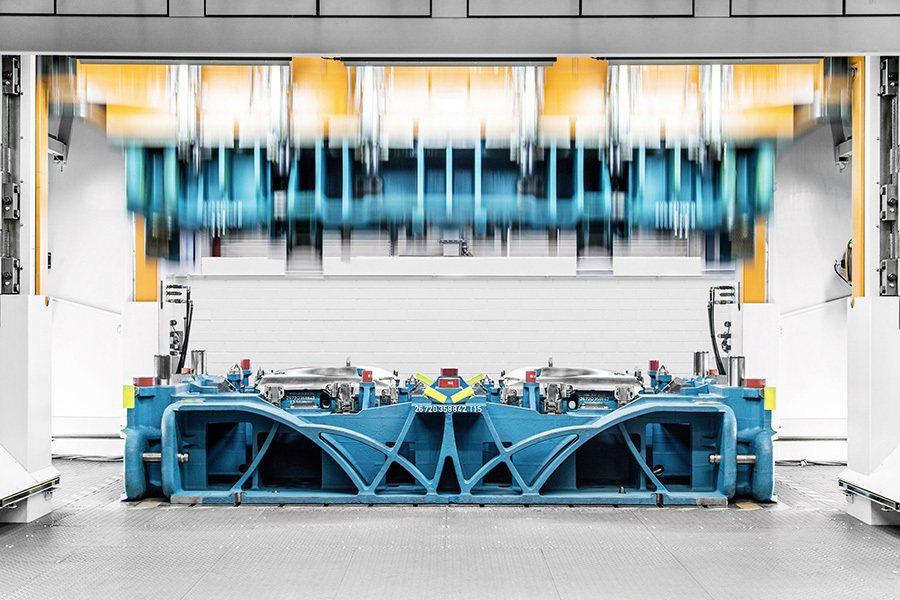 Audi 全新開發零組件製造機具,搭配尖端仿生機械結構與創新3D列印技術,成功為...