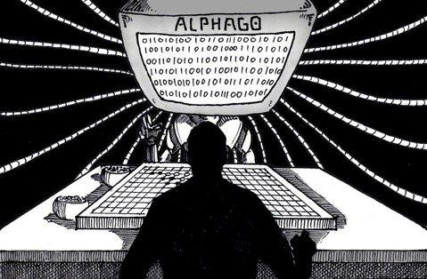 中文房間裡的alphago