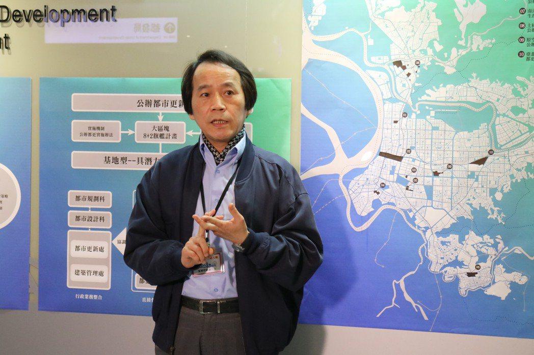 北市副市長林欽榮今表示,未來都更爭議若涉及市府代拆,將上簽至市長,由市長指派主席...