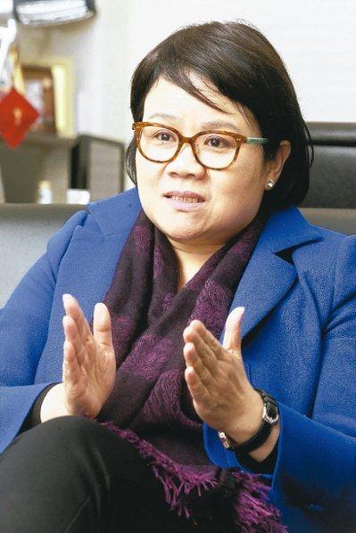 前行政院政務委員蔡玉玲 聯合報資料照片
