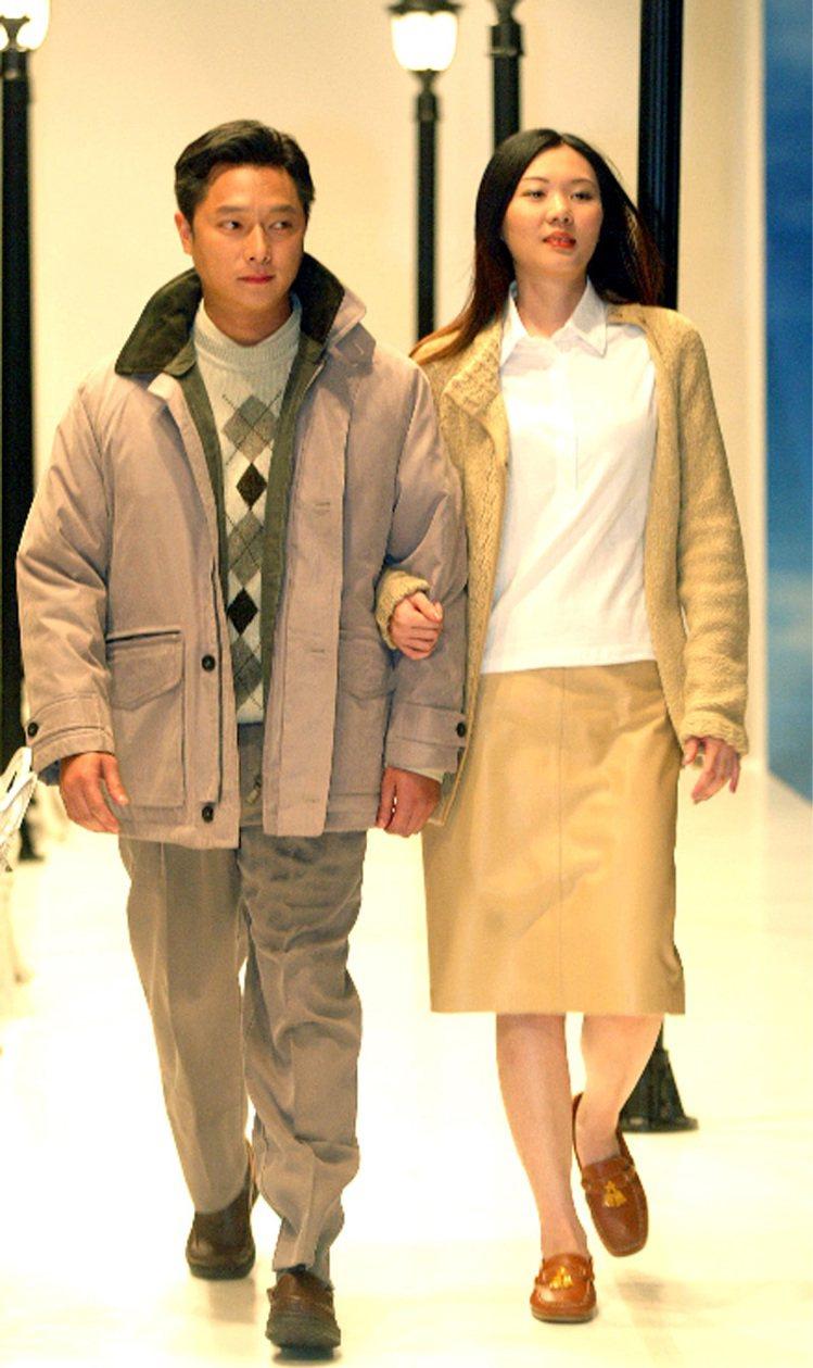 謝祖武(2002年)。圖/聯合報資料照