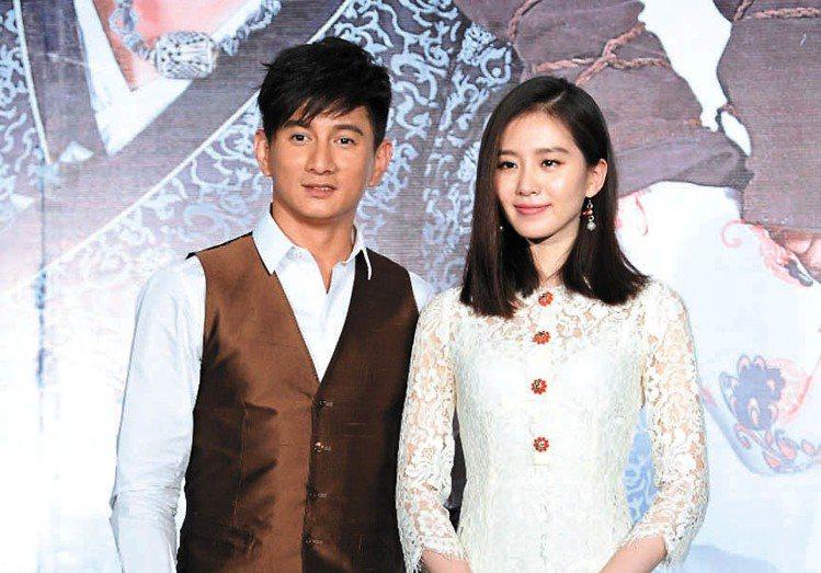 吳奇隆和劉詩詩看起來非常登對,看不出12歲的年齡差。圖/CFP