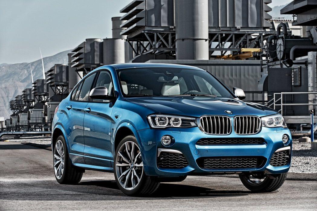 BMW X4 M40i是總代理汎德引進台灣市場的第五款BMW M Perform...