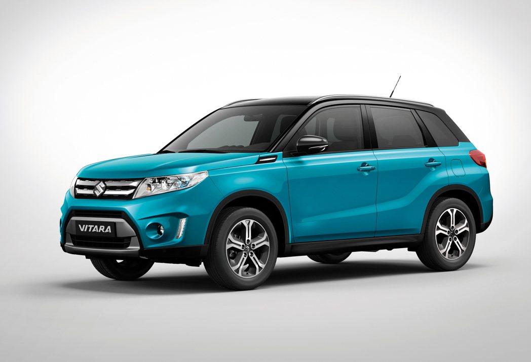 Suzuki新世代全球戰略車款Vitara。 圖/Suzuki提供