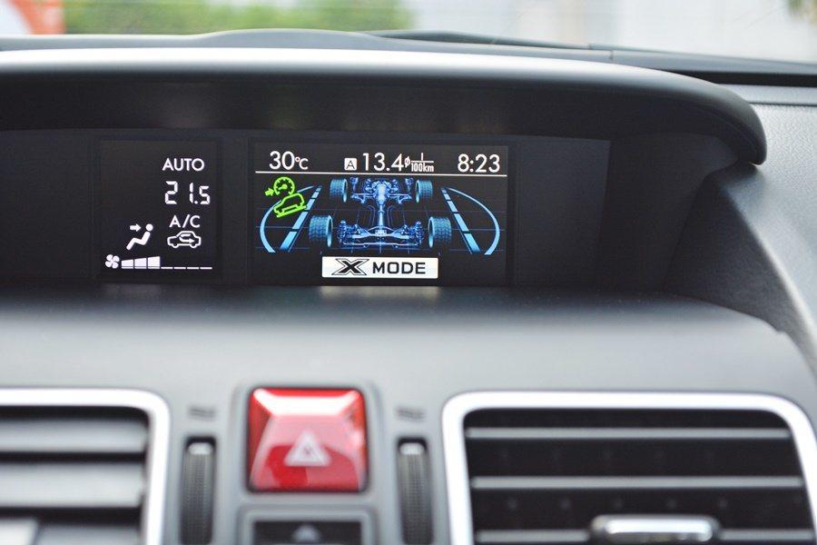 S-AWD四驅系統搭配IS-Drive駕駛模式,可以輕鬆應付地形變化。 記者趙惠...