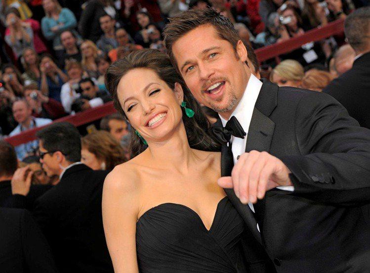 布萊德彼特和安潔莉娜裘莉最近也飽受離婚傳言纏身。圖/Getty Images