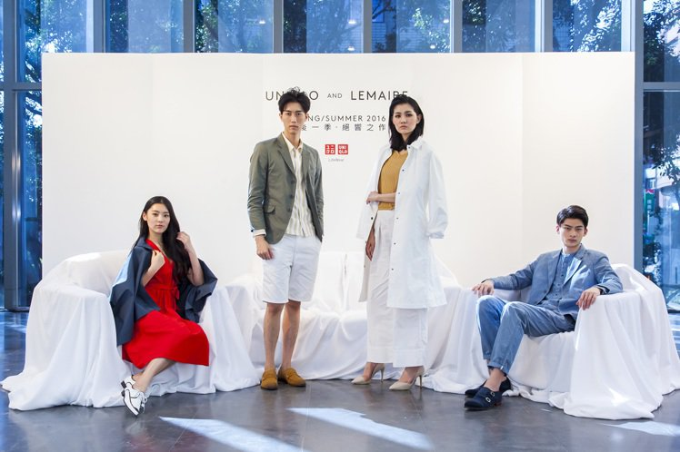 UNIQLO AND LEMAIRE 2016春夏聯名男女裝。圖/UNIQLO提...