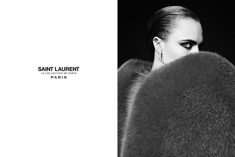 聖羅蘭高級訂製系列(Saint Laurent Couture)推出全新廣告,創...