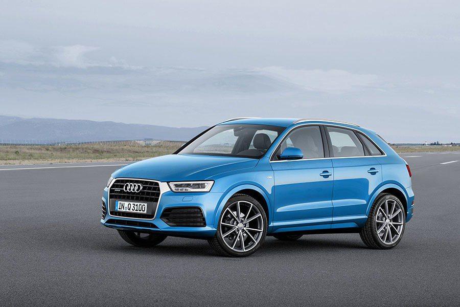圖為現行版Audi Q3。 Audi提供