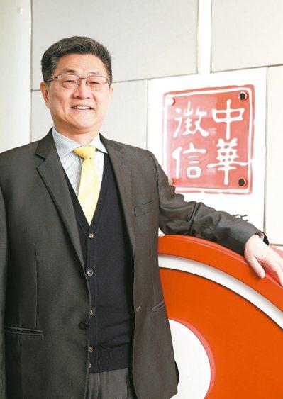 中華徵信所總經理張大為,希望推廣B型企業理念,影響更多台灣企業做好事。 記者陳立...