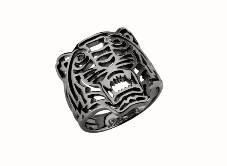 KENZO經典老虎戒指4,000元。圖╱KENZO提供
