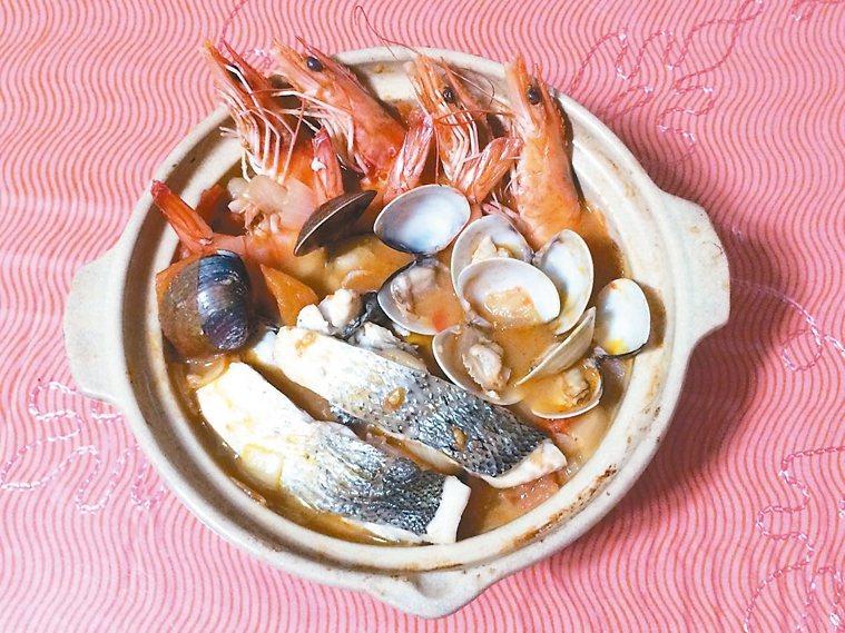 番茄海鮮湯 圖/涂蒂雅提供