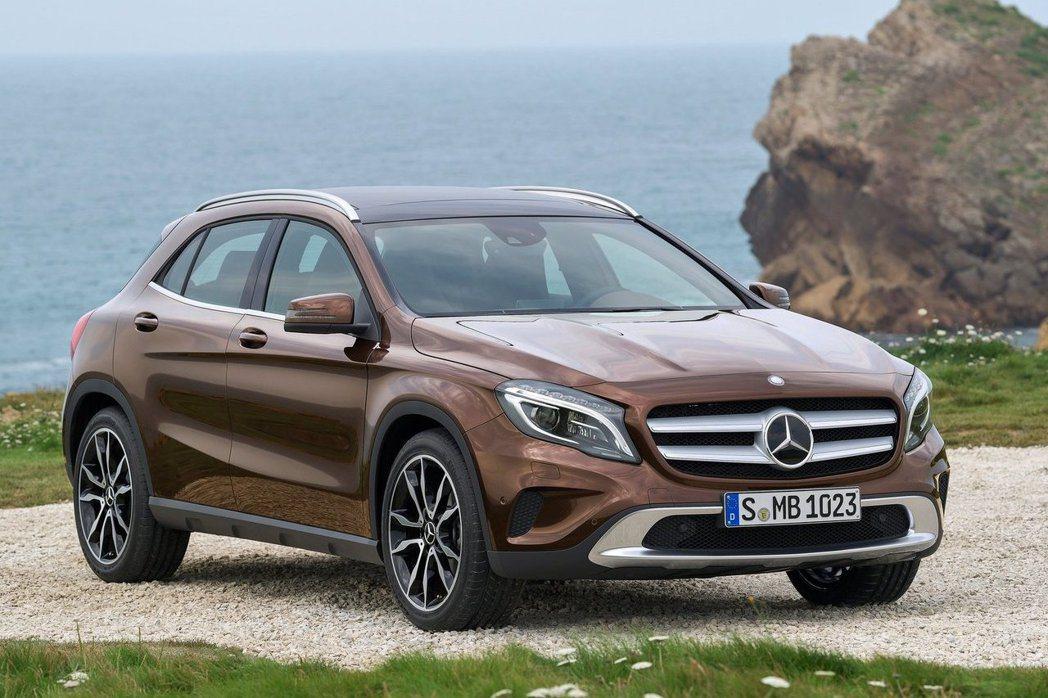 M.Benz GLA-Class。 摘自M.Benz.com