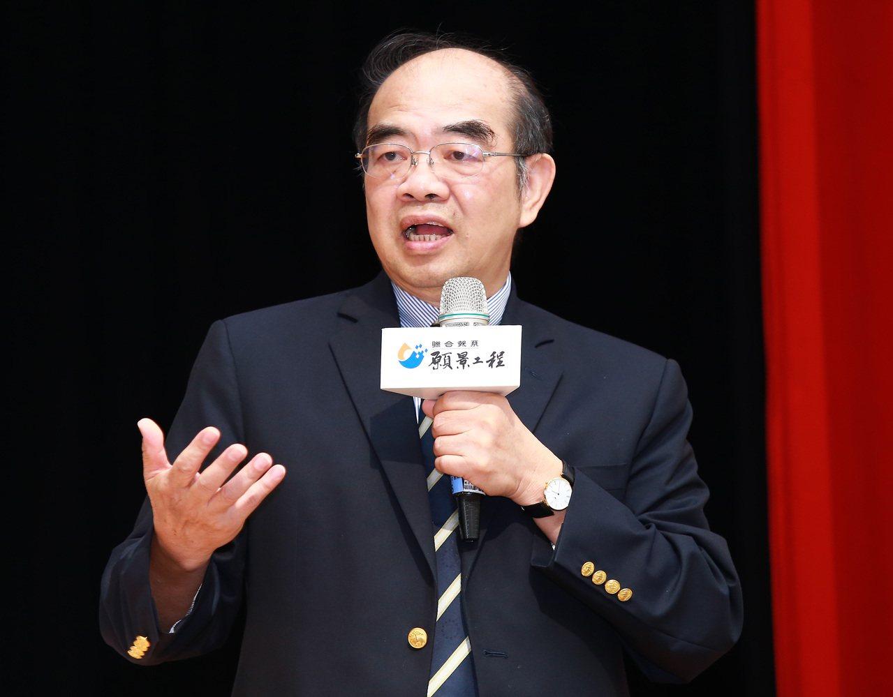 前東華大學校長吳茂昆。記者陳柏亨/攝影
