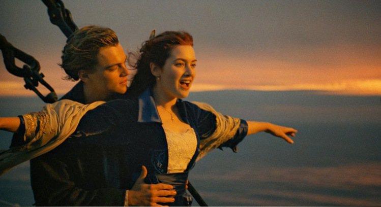 「鐵達尼號」為經典愛情電影。圖/摘自Imdb