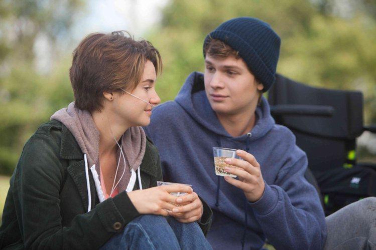 「生命中的美好缺憾」描述2名罹癌少年間的愛情故事。圖/摘自官方臉書