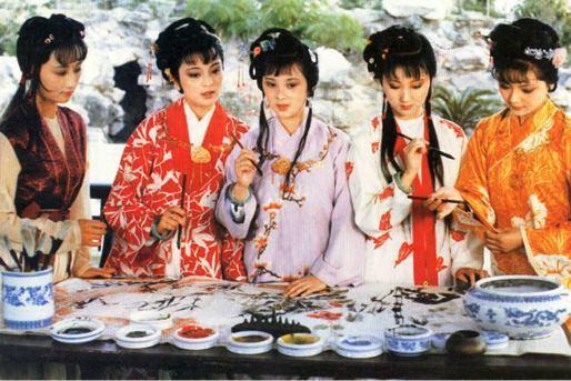 示意圖/中國央視1987電視劇《紅樓夢》/www.zwbk.org