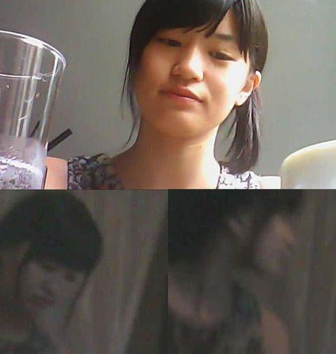 流出的援交影片毀了高崎聖子。 圖片來源/ gravure movie