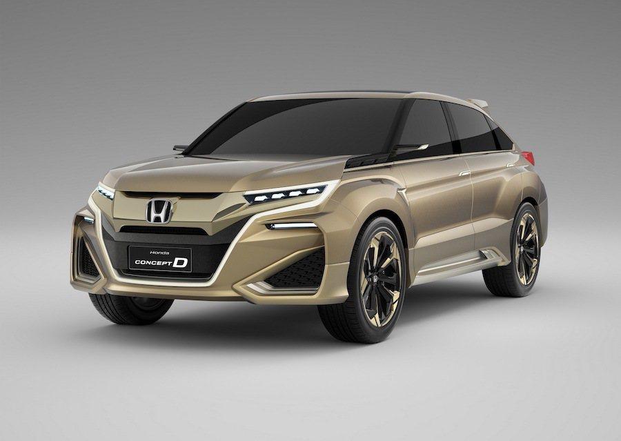 Honda將在今年的北京車展中展出兩輛全新SUV。 Honda提供
