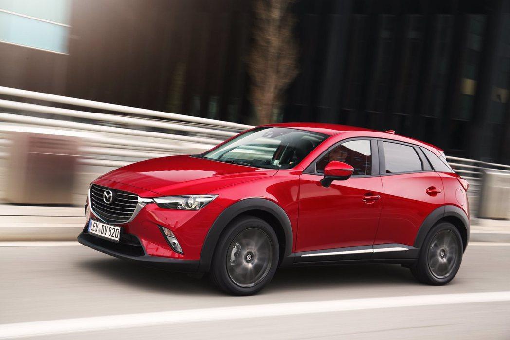 Mazda CX-3。 圖/Mazda提供