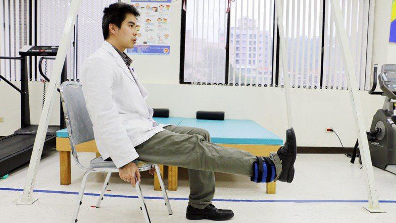 加強大腿肌力 圖/本報資料照片