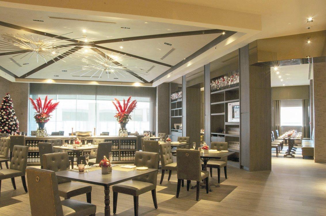 維多麗亞N°168 PRIME寬敞明亮的用餐環境。 圖/業者提供