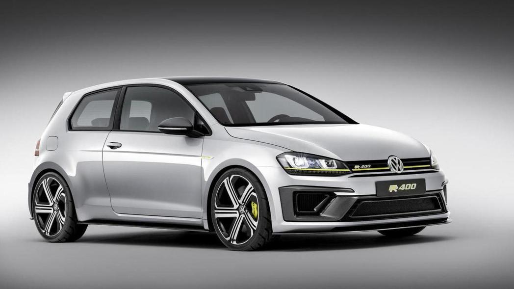 Volkswagen曾於2014年北京車展上,亮相一款名為Golf R 400 ...
