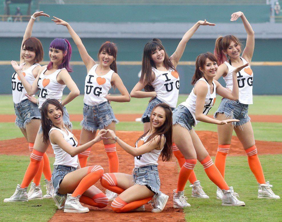 統一獅「Uni-girls」。 圖/聯合報系資料照片