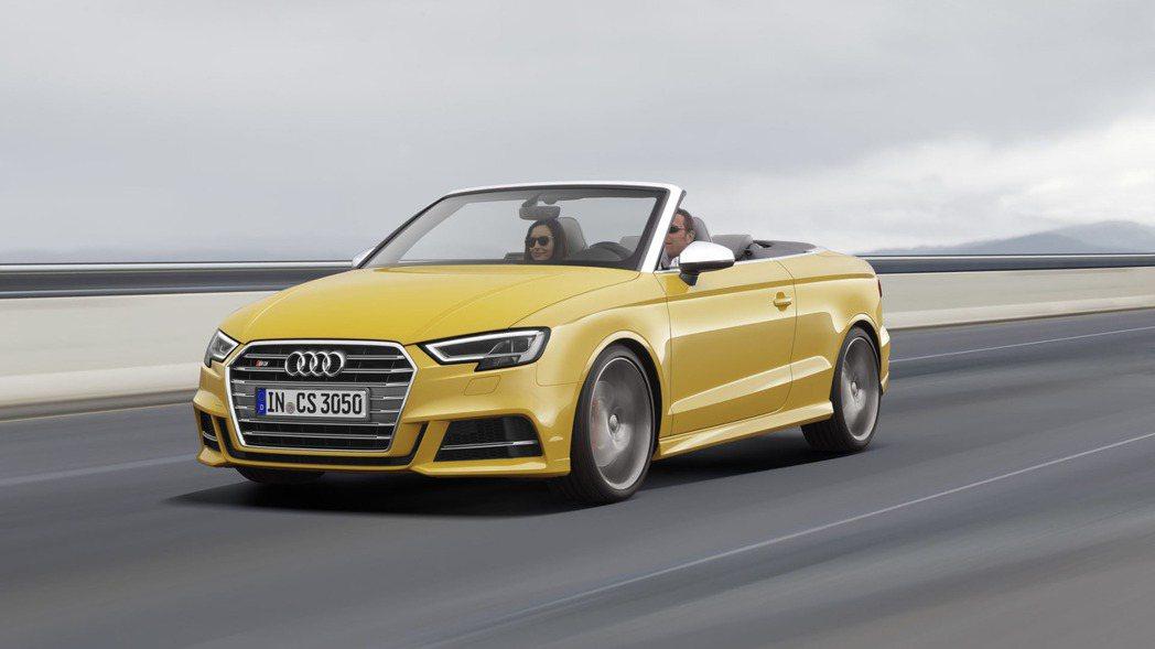 原廠針對A3車系陣容一併推出新改款面容。 摘自Audi.com